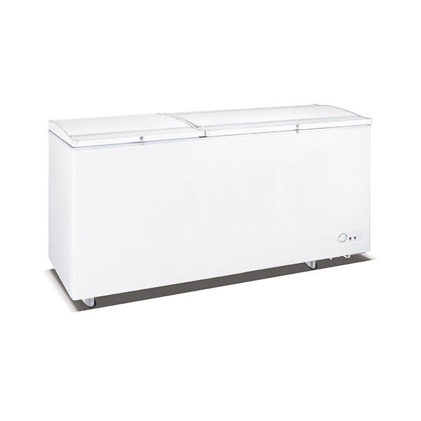 1028L Direct Cooling Saving-energy Low Noise Top Double Solid Door Deep Freezer, Chest Freezer